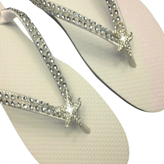 flip flops beach wedding flip flops starfish flip flops wedding