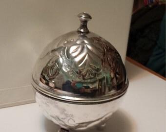 Silver Plate Yarn Holder