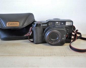 Canon Sure Shot Tele 35mm Film Zoom Camera Canon Lens 40-70mm / vintage 1980s Canon Camera