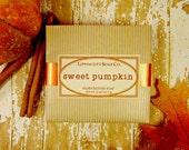 Sweet Pumpkin Soap, Cold Process Soap, Bar Soap, Pumpkin Pie Scented Soap, Phthalate Free Soap, Handmade Soap, Bakery Soap, Palm Oil Free