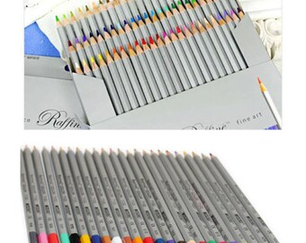 72 Color Marco Drawing Oil Base Non-toxic Pencils