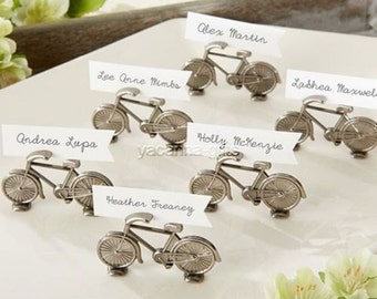 24 Bicycle Place Card Holders Wedding Favors Craft Supply