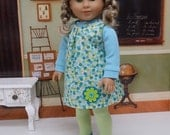 Ditzy Floral - Vintage styled dress for American Girl