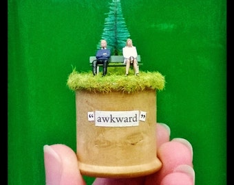 "cotton reel scene *diorama* ""awkward"""