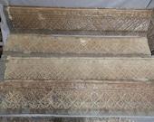 45 Feet Antique Tin Ceiling Border Trim Filler Decorative Architectural Salvage Old Vintage 2515-16
