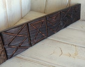 Tapa Tiki Moulding - Hilo Trim Decor Tiki Bar Room Custom Carving Redwood Witco
