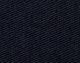 10 oz Brushed COTTON Twill Upholstery Slipcover Fabric MIDNIGHT BLUE Home Decor Slipcovers Clothing