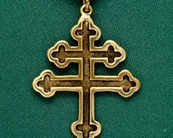 Cross of Lorraine- Bronze