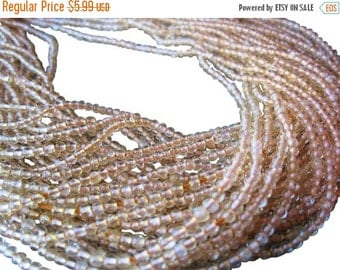 SALE Citrine Beads, 2-2.5mm Smooth Round, Non Faceted, November Birthstone, Yellow Gemstone Beads, Loveofjewelry, SKU 3169