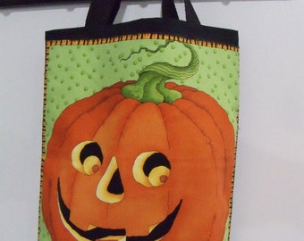 Halloween Trick or Treat Bag Spooky Jack Candy Gift Bag