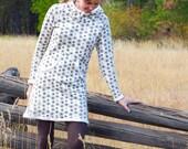 Women's Organic Clothing - Rise Up Tunic Dress - Hemp Fleece - Limited Edition Dress