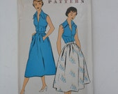 Vintage 50s Blouse and Skirt Pattern New York 918 Size 18 Bust 36 UNCUT