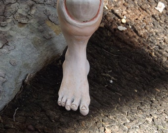 The Toe - Ceramic sculpture in a series of nightmares