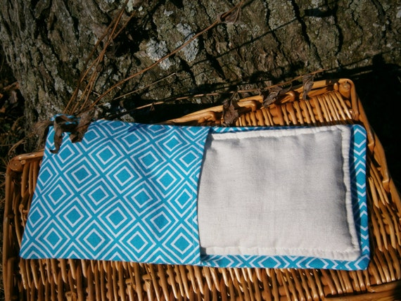 Herbal Scented Animal Eye Pillows : Organic Aromatherapy Eye Pillow Flax by SimpleGoodsClarion on Etsy