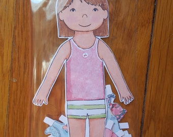 Matilda Jane Isabella Paper Doll Set contains 1