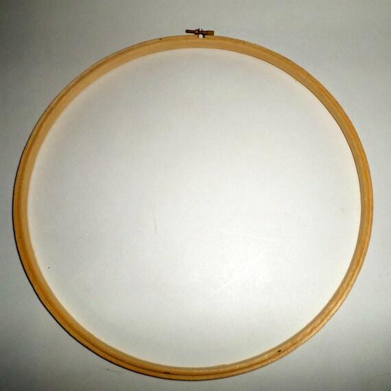 Inch wood embroidery hoop vintage hand