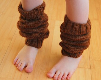 Children's Wolly Leg Warmers