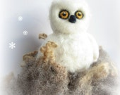 Owl ornament,animal ornament,needle felted owl,needle felted animal,Felt ornament,Felted animal,