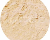 Light Beige Mineral Foundation •  Mineral Makeup • Natural Vegan Makeup • Earth Mineral Cosmetics