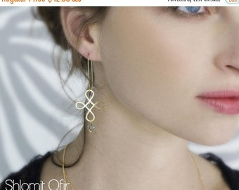 Sale 20% OFF Loop Element Earrings
