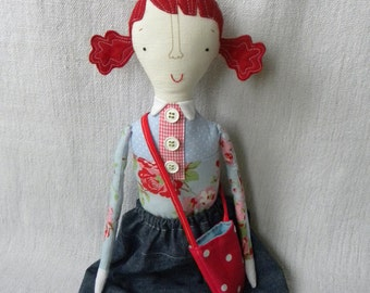 Ulrika   handmade girly doll
