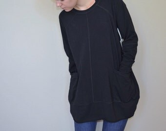 Organic Cotton with Lycra Barrel Tee Tunic