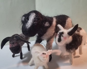 Nativity Felted Animal Collection - NEW