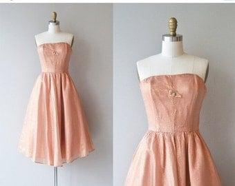25% OFF SALE Sugar Bomb dress   vintage 1950s dress   strapless 50s party dress