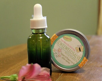 Jewelweed Salve | Poison Ivy  Salve |  2 ounces | GMO Free | Organic | Poison Ivy Balm | Skin Rash Care