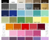 2 Vinyl Color Samples vinyl lettering wall decal sticker wall paper removable art