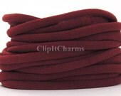 Wholesale .39+ Burgundy Stretch Nylon Chokers...Use for bottle cap jewelry,pendants,charms, headbands/doubles as a bracelet or anklet....