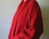 Basia's PROVOCATEC Daffodil Yellow or Geranium Red Short Shawl Jacket