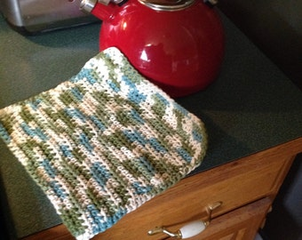 Dish Cloth, Hand Crochet