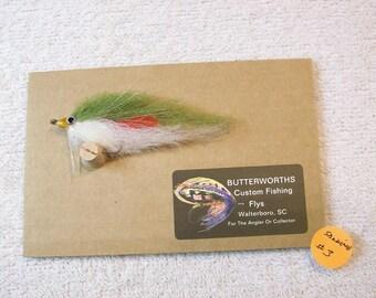 Sardine Baitfish Fly / Salt Water /Trout / Red Drum / 1/0 SS / No3