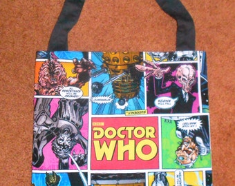 DR. WHO Bag, Fully Lined, Unique and Fun