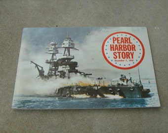 Pearl harbor story December 7, 1941 seventh printing 1971 Authentic info. & pictures of the attact on Peral Harbor