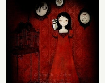 30% Off Halloween Sale - The Red Room - open edition print