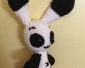 Cute, stuffed, Panda Rabbit, amigurumi, toy