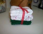 Granny Holiday Dishclothes