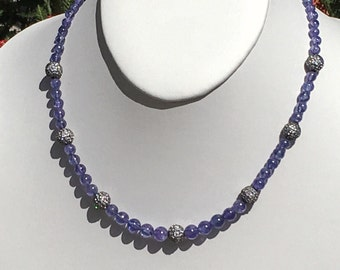 Tanzanite Simplicity Necklace