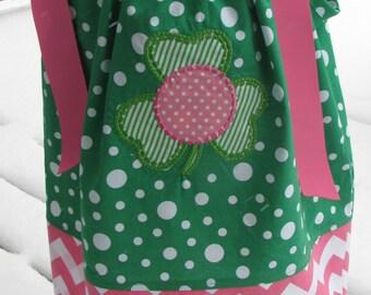 Sample Sale Half OFF  st. patrick Dress, birthday party dress, st. patty party dress