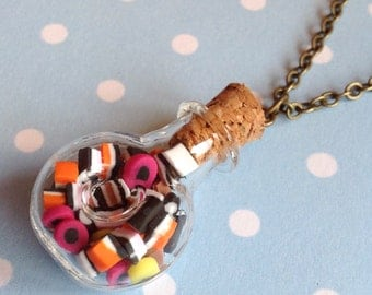 All About The Allsorts Bottle Necklace