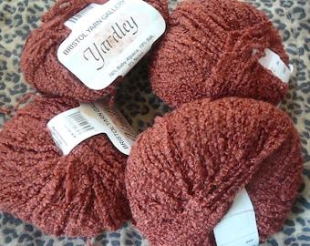 "Bristol Yarn Gallery ""Yardley"" --- Baby Alpaca/Silk/Nylon --- Lot of 4"