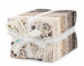 ON SALE Black Tie Affair Fat Quarter Fabric Bundle - Moda - BasicGrey - 40 FQ