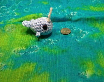 Knitted Narwhal Etsy