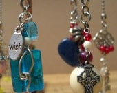 HOLIDAY Wishes - Do you beleive - LIGHT or FAN pull or Rear View Mirror Charms