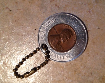 1953 Lucky Penny Key Chain