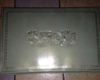 Sage Green Stationery Box