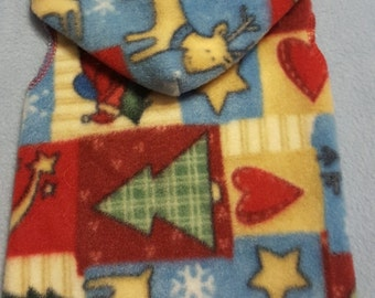 Dog Christmas Patchwork Snuggly- 3 Sizes