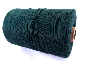 Macrame Bamboo Cord 0.7mm - 10 meters / 32.8 ft - Dark Green